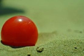Pallina rossa Formia